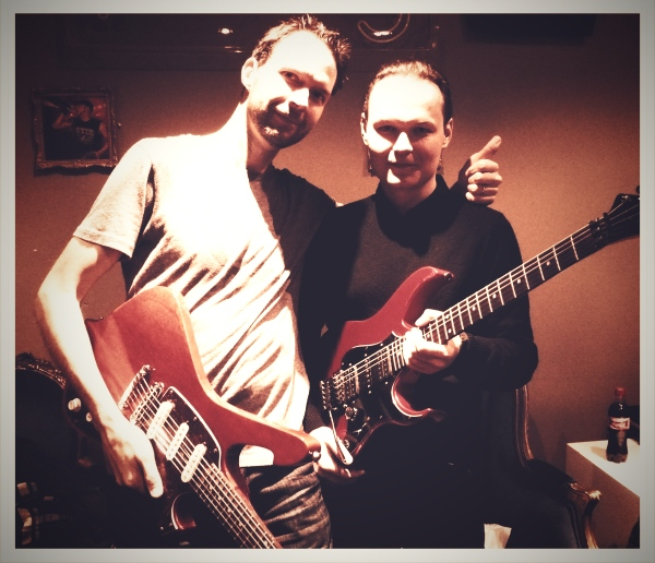 GREG X AND PAUL GILBERT