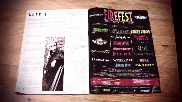 Greg X-London Guitar Teacher Interviewed By Fireworks Magazine-Issue 50 Out Now!