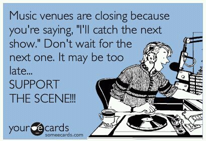 Support Live Music Venues And Performing Artists