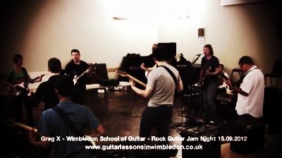 Wimbledon School Of Guitar September Jam Night And Rhythm Guitar Masterclass