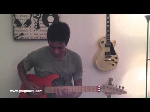 GREG HOWE LONDON GUITAR CLINIC 2013 – WATCH PERSONAL MESSAGE FROM GREG