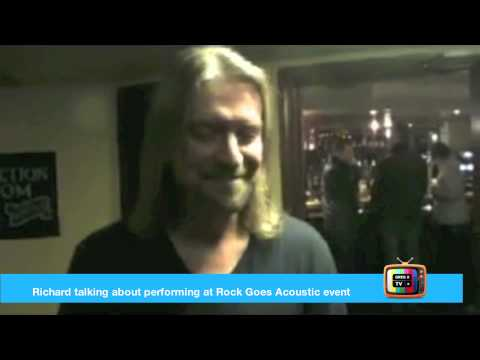 Greg X TV: Introducing Richard The Busiest Musician At Rock Goes Acoustic Event!