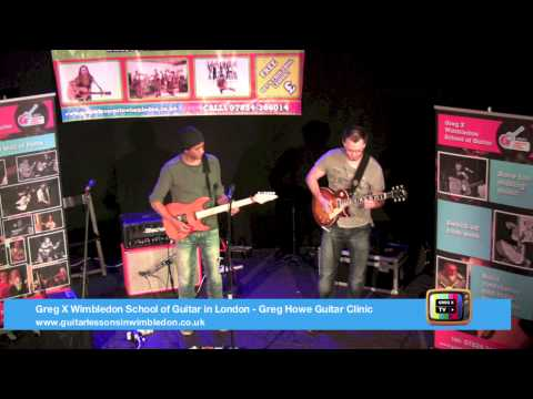 Greg Howe Jamming With Tom Quayle At Wimbledon School Of Guitar Event!