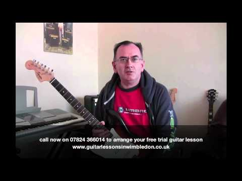 Student Chris Talking About Wimbledon School Of Guitar And His Guitar Lessons With Greg