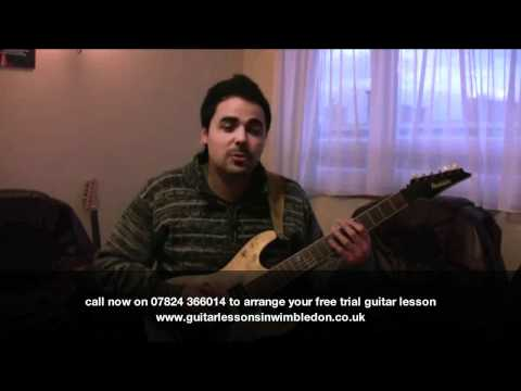 Student Kleber Talking About His Guitar Lessons At Wimbledon School Of Guitar