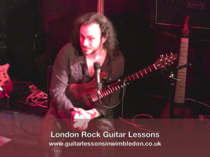 Alex Hutchings Talking About Correct Guitar Posture!