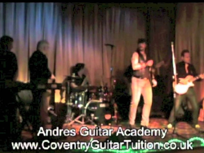 Ending Busy 2011 In A Rock N' Roll Style! Watch Greg Performing Live At Andres Guitar Academy In Coventry
