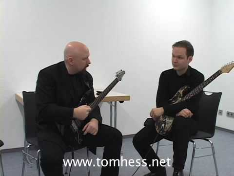 Greg As A Guitar Student. Watch A Footage From A Special Masterclass In Germany Featuring Tom Hess