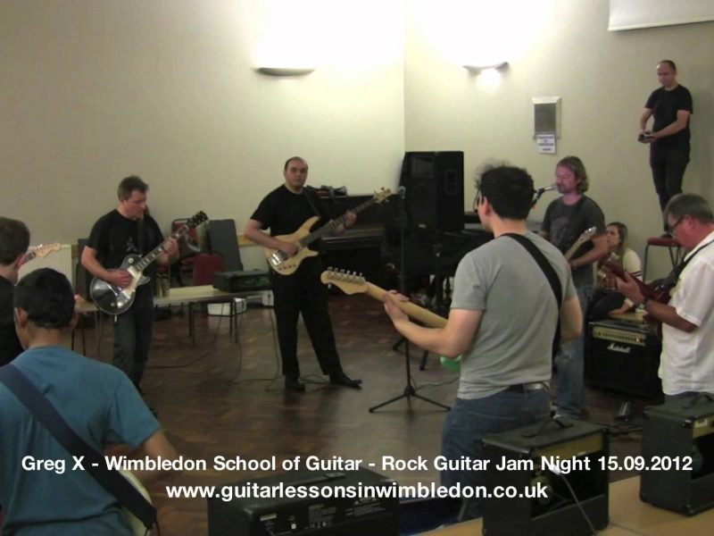 Congratulations To Students Of Wimbledon School Of Guitar For Surviving 5 Hours Of Non Stop Jamming At The September Jam Night