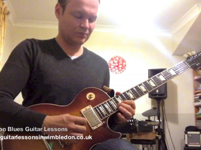 Friday Night Blues Guitar Jam In A.