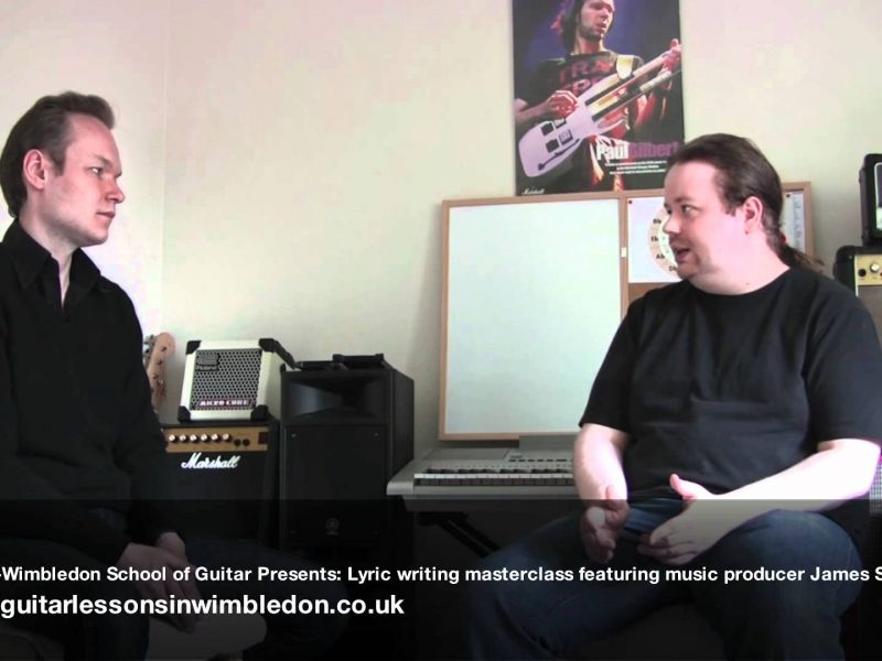 Songwriting Masterclass With My Former Student And Successful London Music Producer James Scott 15.06.2012