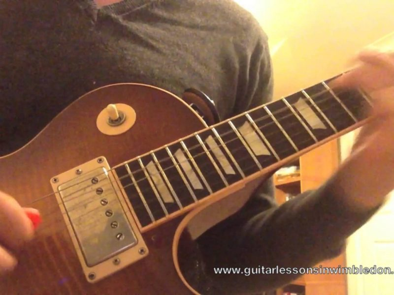Blues Lick Of The Week. Part 8. London Blues Guitar Lessons