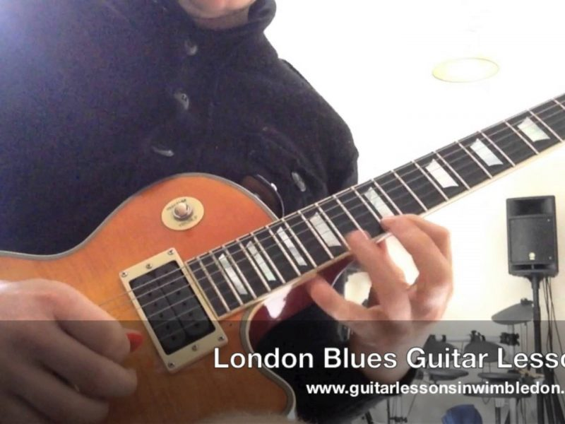 Benefits Of Learning Blues Guitar Licks. Blues Guitar Lessons In London. Covering Lead Guitar Techniques And Classic And Modern Blues Licks