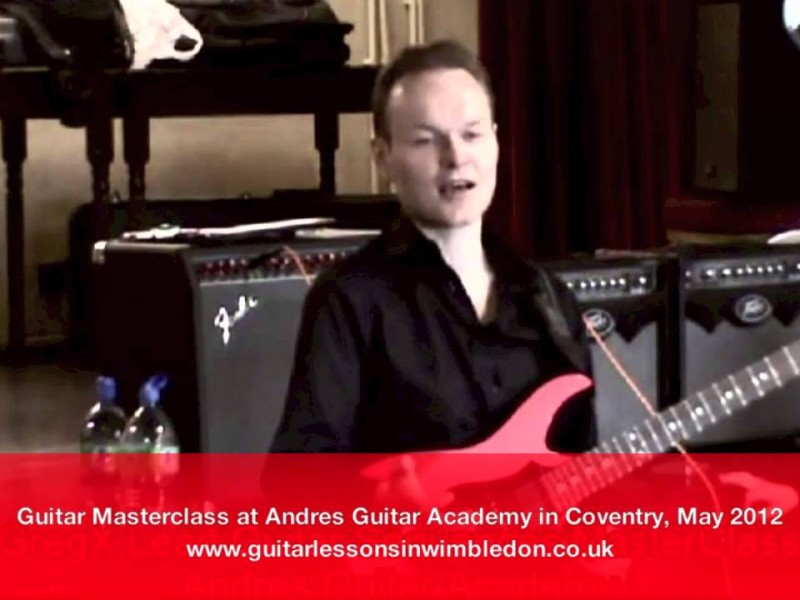 How Much Time Should I Practice Guitar?Guitar Masterclass In Coventry-Q&A With Students Of Andres Guitar Academy In Coventry, May 2012