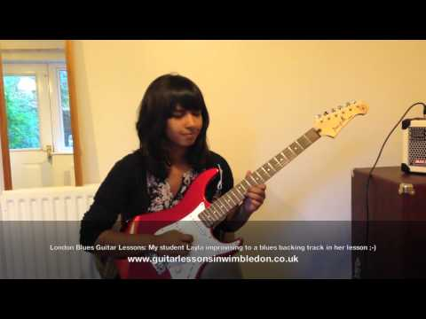 My Student Layla Is Back With Her Blues Improvisation! Check Out My Blues Guitar Lessons In London For Beginner And Intermediate Players.