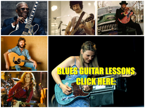 BLUES GUITAR LESSONS BEGINNERS