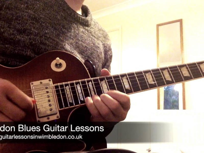 Blues Lick Of The Week. Episode 13. Blues Guitar Lessons In London.