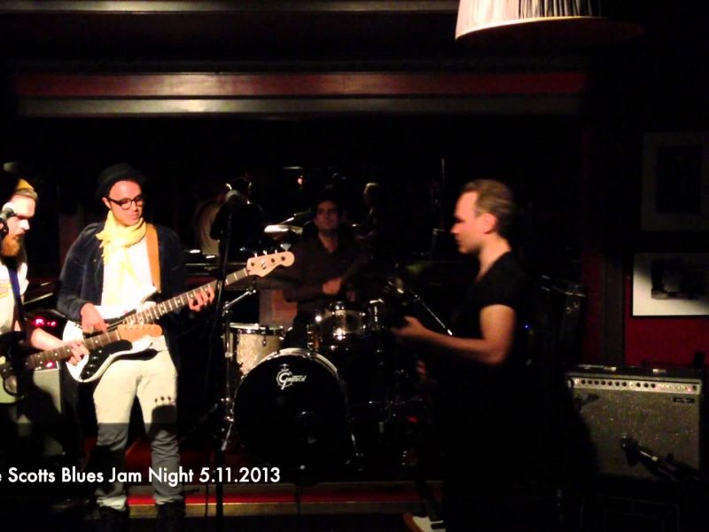 Greg Playing Live At Ronnie Scotts Blues Jam Night 5.11.2013