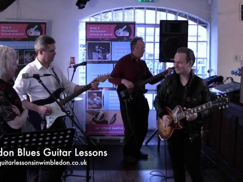 The Thrill Is Gone By BB King – Student Jam Session Workshop.