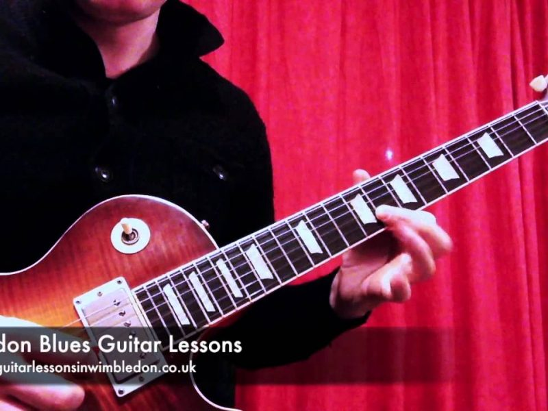 Friday Blues Lick Of The Week. Episode 17. Jimmy Page Inspired Blues Lick In C Part 2.