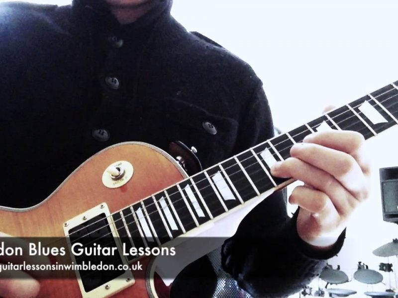 Blues Guitar Lessons In London: Friday Blues Guitar Lick Of The Week. Episode 18. Peter Green Lick