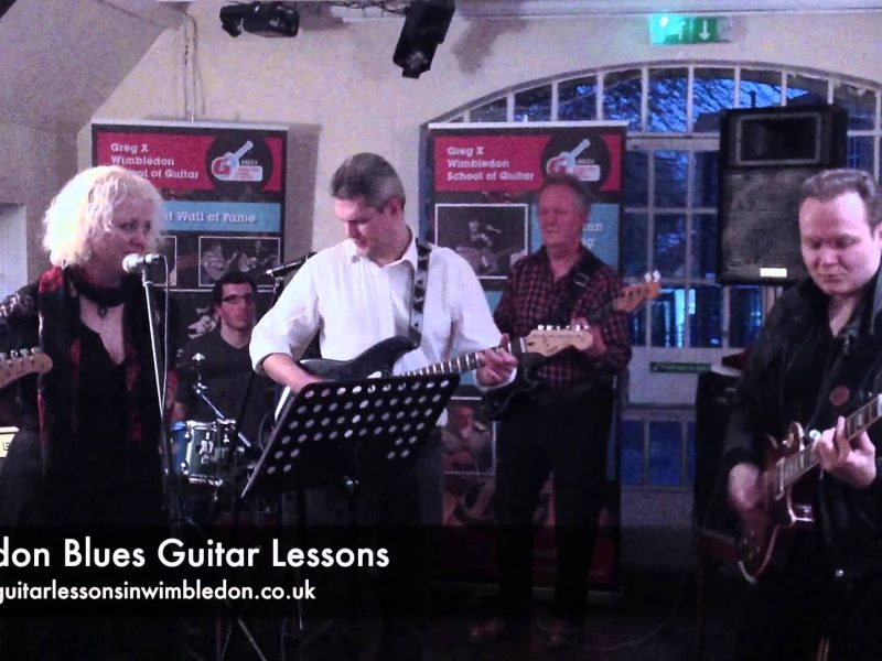 Blues Guitar Lessons In London: Rock Around The Clock-Bill Haley Cover Played At Band Performance Workshop By Students Of Wimbledon School Of Guitar