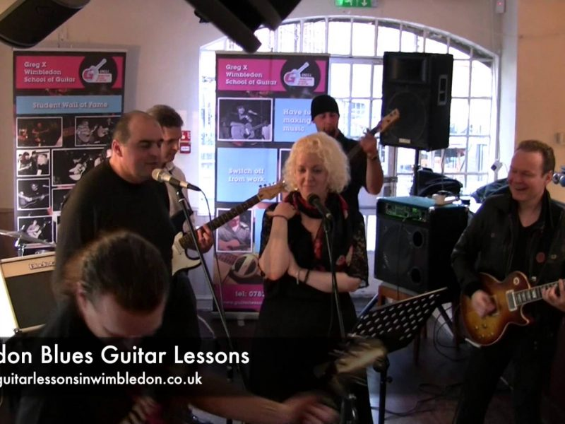 London Blues Guitar Lessons: Sweet Home Chicago From Student Band Performance Workshop 1.12.2012