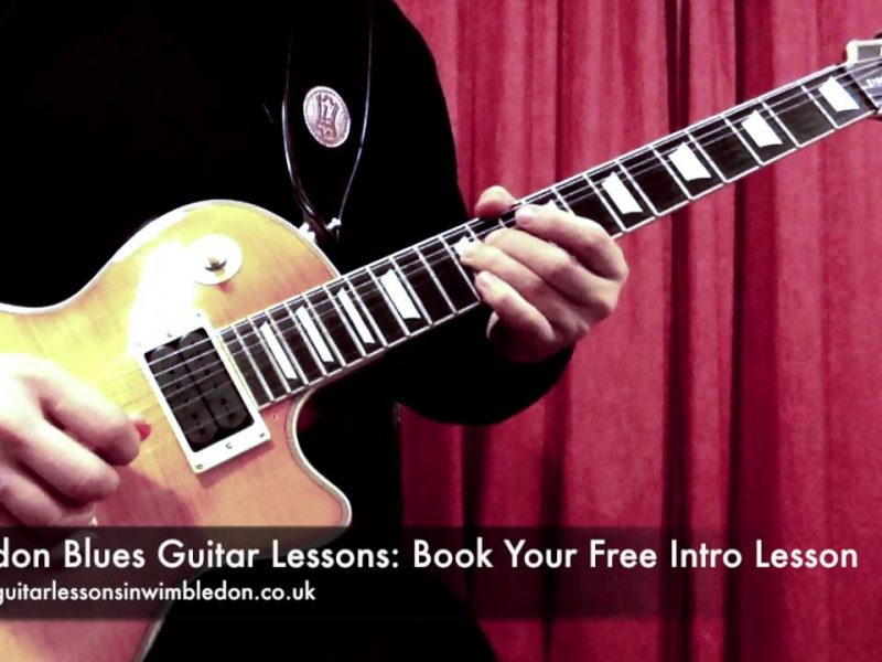 Blues Guitar Lessons In London: Friday Blues Lick Of The Week, Episode 22. Blues Lick In A