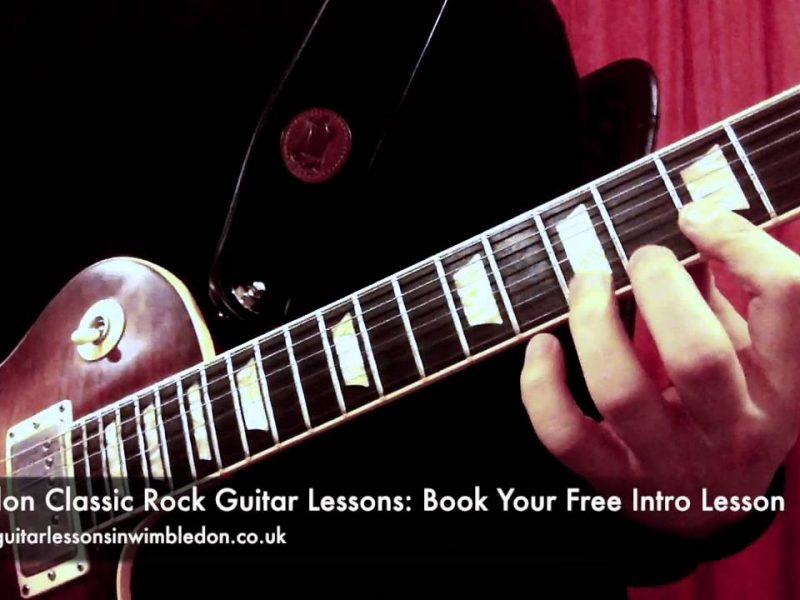 BLUES GUITAR LESSONS IN LONDON: BLUES LICK OF THE WEEK EPISODE 24-HOW TO PLAY CLASSIC ROCK SOLOS PART TWO