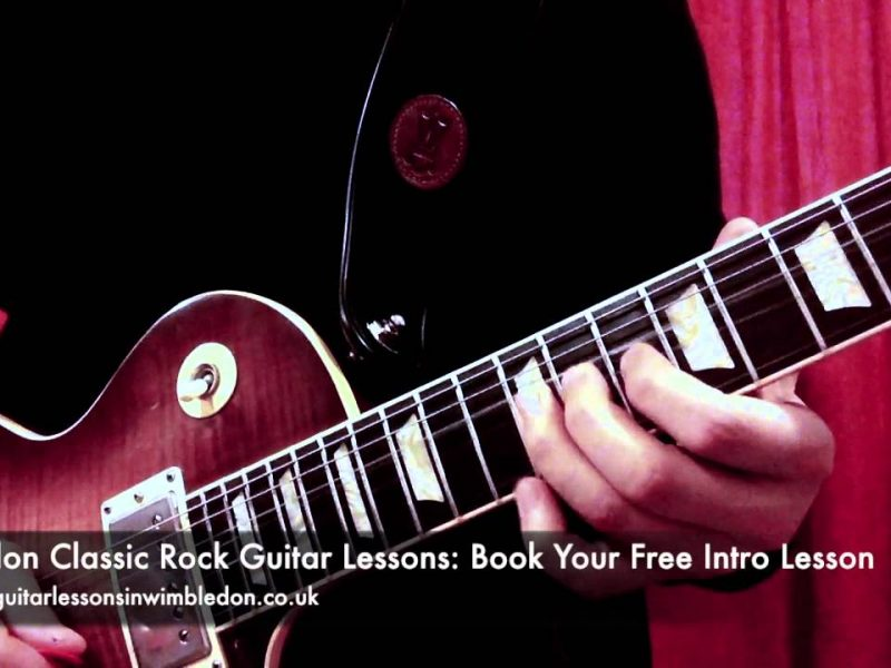 BLUES GUITAR LICK OF THE WEEK EPISODE 23-HOW TO PLAY CLASSIC ROCK GUITAR SOLOS