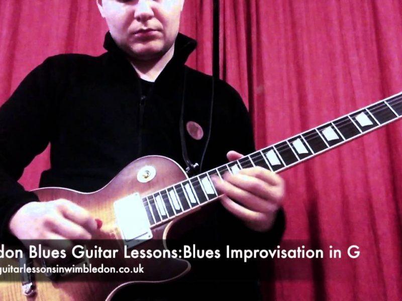 BLUES IMPROVISATION GUITAR CLASSES IN LONDON: BLUES IMPROVISATION IN G