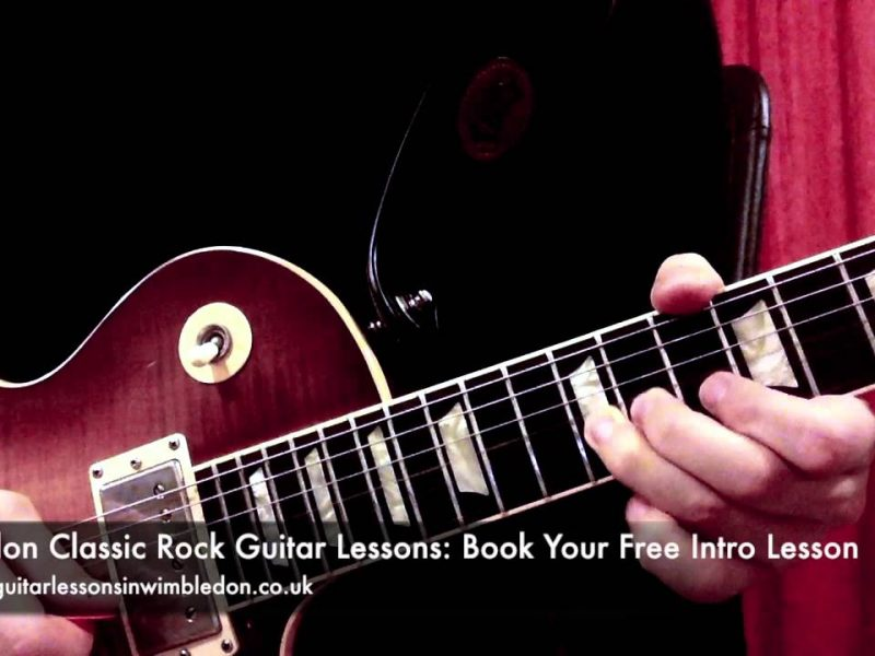 LONDON BLUES ROCK GUITAR LESSONS:BLUES GUITAR LICK OF THE WEEK EPISODE 25, HOW TO PLAY CLASSIC ROCK SOLOS PART 3