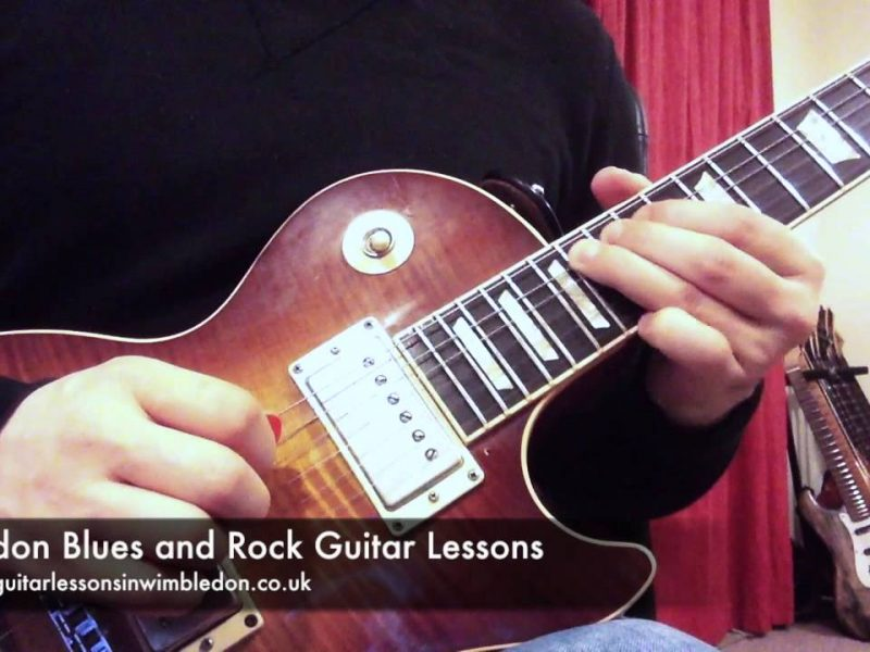 Wimbledon Blues And Rock Guitar Lessons: Blues Lick Of The Week Episode 31: Gary Moore Style Minor Pentatonic Lick