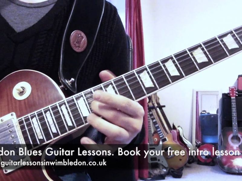 London Blues Guitar Lessons-Blues Lick Of The Week, Episode 34. 6ths Blues Lick In E