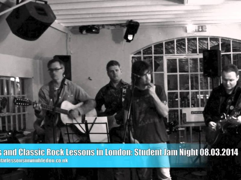 STUDENT JAM NIGHT, 8th Of March 2014. Knocking On Heaven's Door Cover Played Be Danny, Ben,Thomas, Greg, JIm And Alex