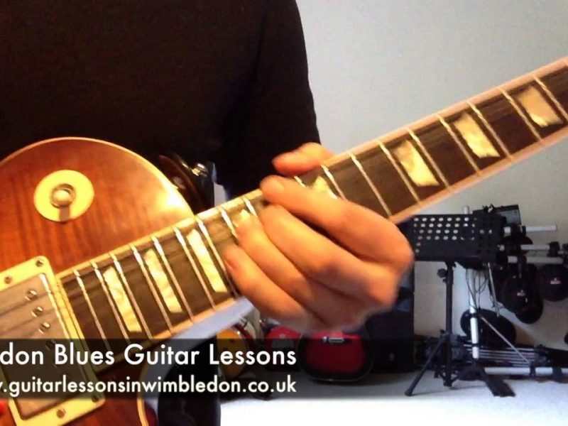Blues And Rock Guitar Lessons In London: Blues Lick Of The Week: Episode 36 Gary Moore Style Blues Lick