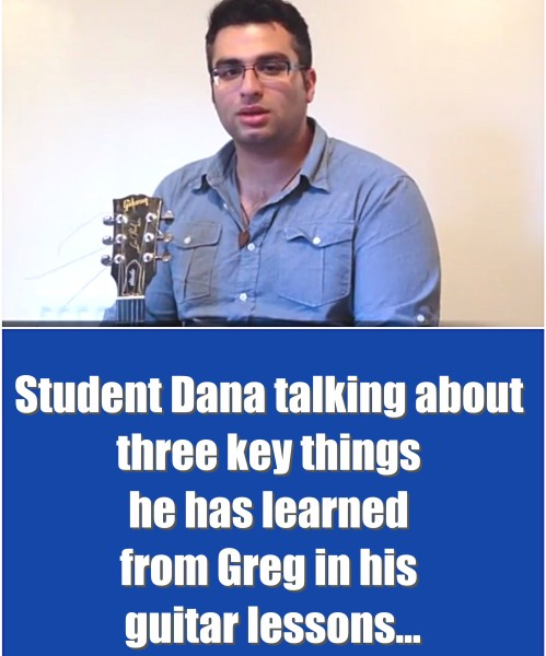 My Student Dana Talking About The Key Three Things He Has Learned From Greg