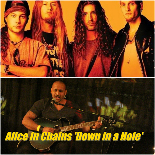 Alice In Chains 'Down In A Hole' Performed By Vik