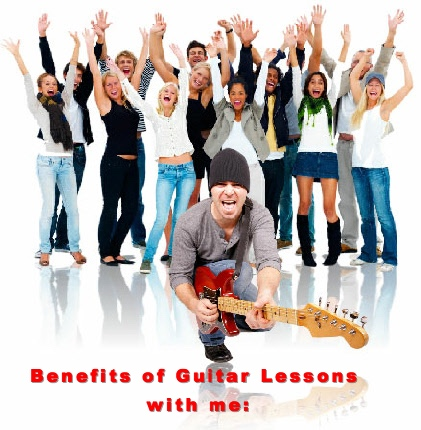 Benefits of Guitar Lessons