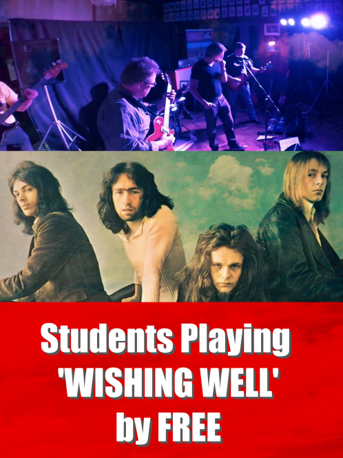Students Playing 'Wishing Well'