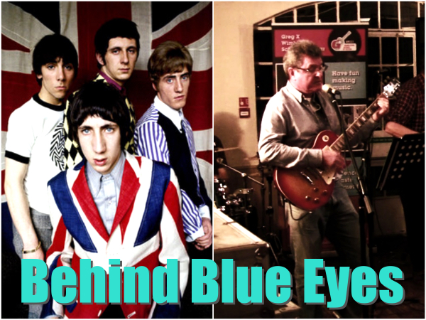 My Student Chris Recorded 'Behind Blue Eyes' By The Who!