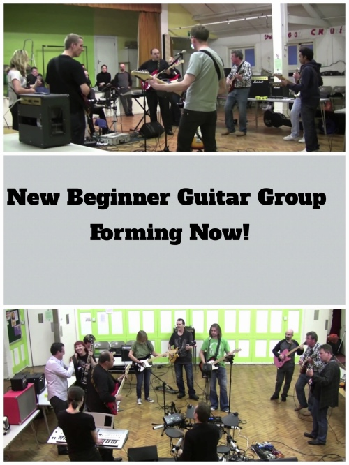 GUitar Group Lessons Wimbledon