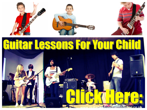 GUITAR LESSONS FOR CHILDREN IN WIMBLEDON
