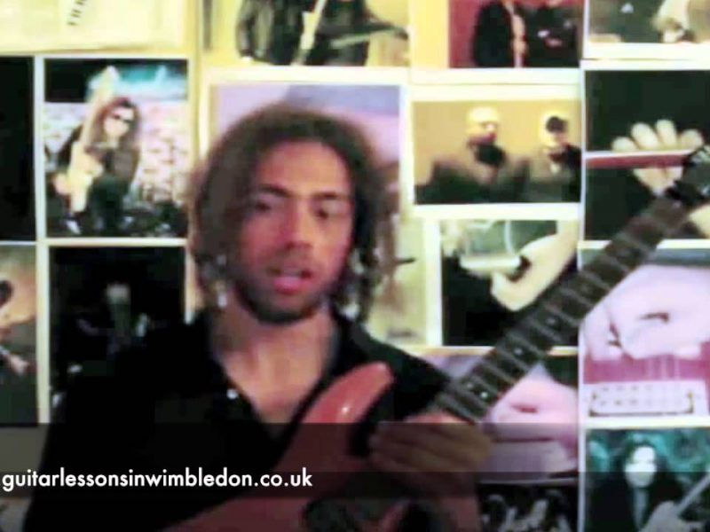 Student Donald Talking About His Lessons With Greg At Wimbledon School Of Guitar