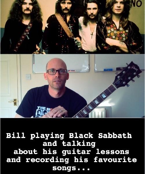 New Testimonial From Student Bill & Black Sabbath Cover