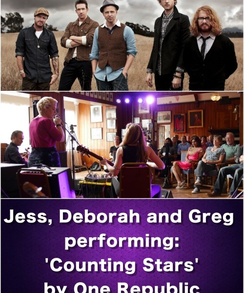 New Student Event Footage:Jess Deborah And Greg Playing Counting Stars By One Republic