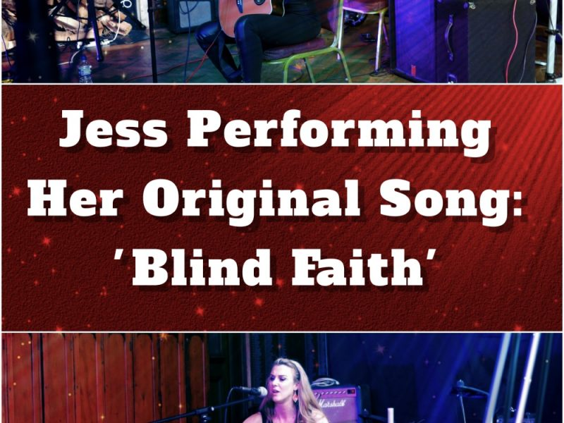 Student Jess Performing Her Original Song 'Blind Faith'