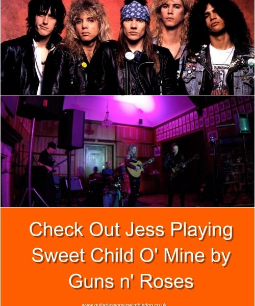 Student Jess Performing Live: Sweet Child O' Mine By Guns N'Roses, Check Her Facebook Post !!!