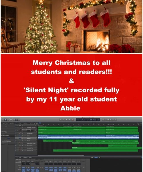Merry Christmas And Best Wishes For 2017! Check The Christmas Song Recorded By 11 Year Old Abbie