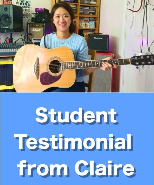 Student Testimonial From Claire